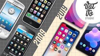#10yearschallenge của thế giới smartphone