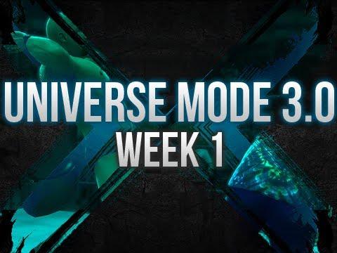 WWE 13 - UNIVERSE MODE 3.0 - WEEK 1 (CREATION!)