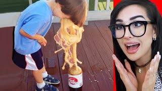 FUNNY KIDS WHO WENT TOO FAR