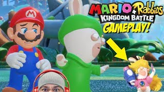 WTF IS GOING ON!!? [MARIO + RABBIDS: KINGDOM BATTLE] [GAMEPLAY!]