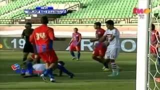 اهداف مباراة بتروجيت 4-2 الزمالك الدوري المصري 2014/4/22