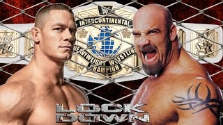 John Cena vs Goldberg for Championship