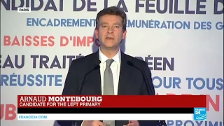 France Left Primary: Arnaud Montebourg concedes defeat, calls to support Benoît Hamon