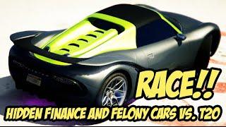 GTAV 1.34 FnF CARS X80, PFISTER811, SEVEN-70 RACE T20!!