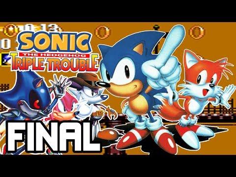 ¡¿Qué hace METAL SONIC en éste juego?! | Sonic Triple Trouble (Sonic & Tails 2) FINAL - Español