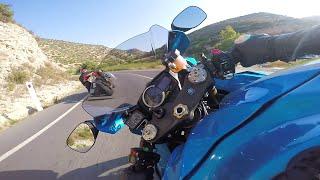 GoPro Motorcycle Gyro Video Moto GP Style