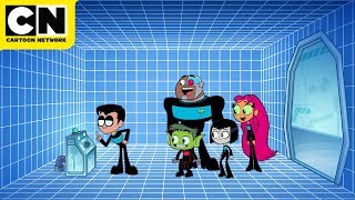 Teen Titans GO! | Teen Titans in Space | Cartoon Network