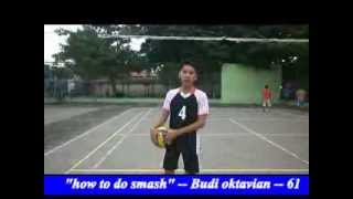 how to do smash in volley ball