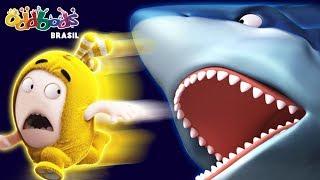 Oddbods vs A Selva | Ataque de Tubarão | Desenhos Animados Divertidos Para Criança
