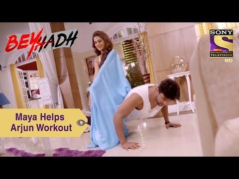 Xxx Mp4 Your Favorite Character Maya Helps Arjun Workout Beyhadh 3gp Sex