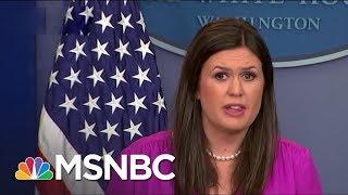 Reporter Reacts to Sarah Huckabee Sanders: