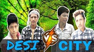 Life Of Desi Vs City Cmi Comedy Mind India Indiacmi