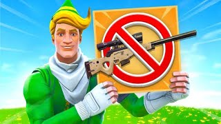 Fortnite Sniper Shootout *BUT* You Can't Use A Sniper!?!