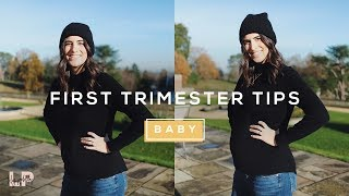 HOW TO GET THROUGH THE FIRST TRIMESTER | Lily Pebbles