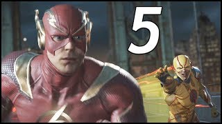 THE FLASH VS REVERSE FLASH! - Injustice 2 Walkthrough Part 5