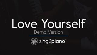 Love Yourself (Piano karaoke demo) Justin Bieber