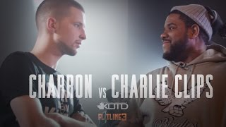 KOTD - Rap Battle - Charron vs Charlie Clips