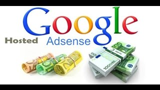Google Adsense (Hosted Acc.)