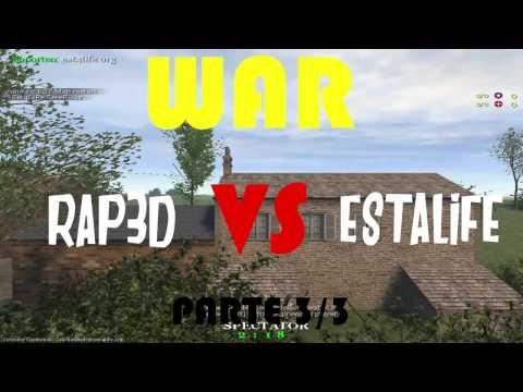 WAR   RAP3D vs ESTALIFE   parte 3/3 ● COD 1