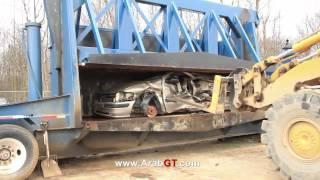 كيف يتم التخلص من السيارات القديمة قبل إعادة تدويرها