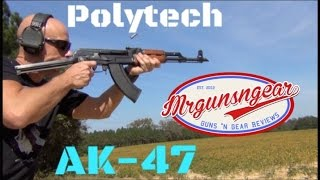 Milled Chinese Polytech Legend Underfoler AK-47 Review (HD)