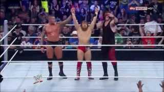 YES, YES, YES!!!!  (Smackdown 5-31-2013)