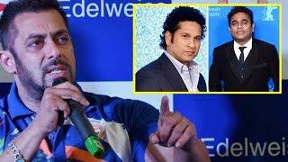 Salman Khan Questions Sachin Tendulkar, AR Rahman's Appointment As Rio Goodwill Ambassadors !