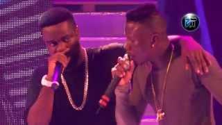 Download Stonebwoy 'murder' Sarkodie in freestyle at Tigo Ghana meet Naija 3Gp Mp4