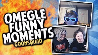 GOONSQUAD OMEGLE IS BACK!! (Roasting People and Magic Tricks on Omegle Funny Moments)