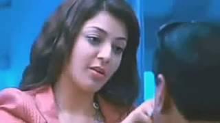 Tamil & Telungu Actress Kajal Agarwal Kiss