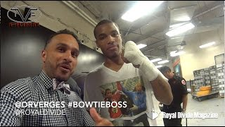 Ed 'Bad Boy' Brown Full Fight - Interview #BowtieBoss @DRVerges 8/22/15