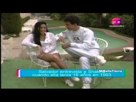 Xxx Mp4 Shakira Cuando Tenía 16 Años Entrevistada Por Salvador Nasralla En 1993 3gp Sex