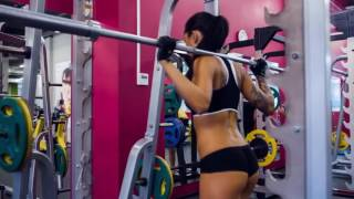 gim Rafael N. Young-----Hot Female Model Anzhelika Anderson Workout Motivation