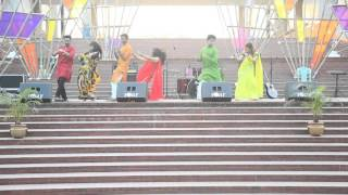 Dhoom tana ,Nacher Chonde Re, Tumi Ashe Pashe thakle Dance MIST Falgun