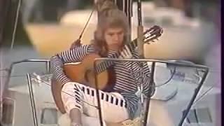 """""""Alfonsina y el Mar"""" by Ariel Ramirez- guitar solo Galina Vale"""