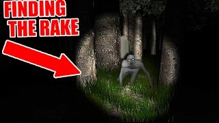 WE FOUND THE RAKE!!! So Scary It
