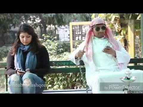 Dubai Sheikhs Golden Biscuits Vs Indian Girls Attitude..Funny Video
