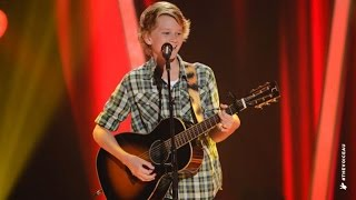 Fletcher Sings Flying With The King | The Voice Kids Australia 2014