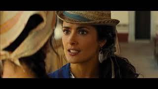 "Salma Hayek and Penelope Cruz Funny Scene from ""Bandidas"""