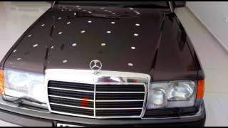#Mercedes 200 E seramik kaplama uygulaması (ceramic pro)