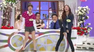 [SNSD] Yuri and Sunny sexy cute dance Funny Moments