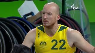 Wheelchair Rugby | Canada vs Australia | Preliminary | Rio 2016 Paralympic Games