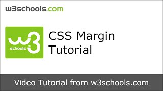 W3Schools CSS Margin Tutorial