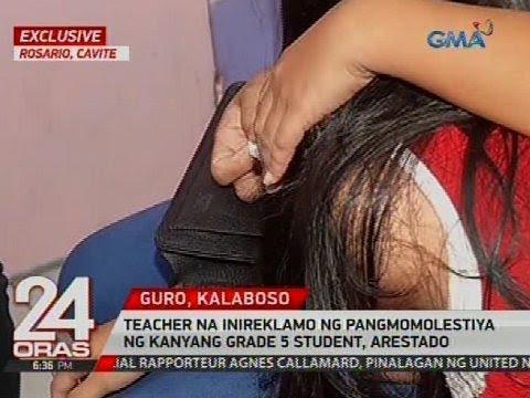 Xxx Mp4 Exclusive Teacher Na Inireklamo Ng Pangmomolestiya Ng Kanyang Grade 5 Student Arestado 3gp Sex