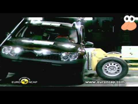 Dacia Duster Crash Test cu muzică