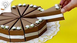 DIY Cake Gift Boxes | Birthday Gift Ideas | Thaitrick