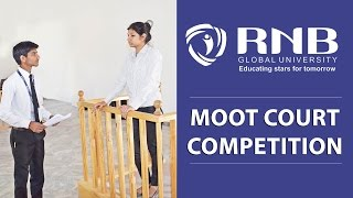 Moot Court Competition at RNBGU School of Law, Best Law Rajasthan University
