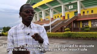 25 April 1994 - RPF Evacuates Amahoro Stadium | 100 Stories | Kwibuka20