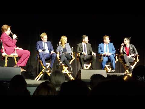 Ron Burgundy interviews Conan O Brien Kimmel Sarah Silverman James Corden Samantha Bee TeamCOCO