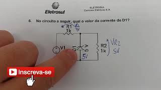 Curso de Eletrônica - Diodo Zener Reversamente Polarizado - Eletrônica Fácil